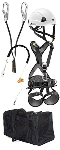 Petzl Tower Climber / Roof Top Worker PPE Kit