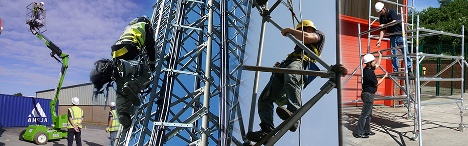 Working at Heights A full range of working at height & health & safety training   Find Out More